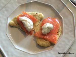 blinis salmon