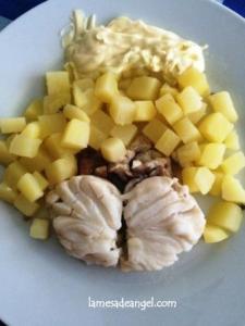 merluza patatas