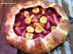 galette fresa platano