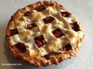 tarta fresa albahaca